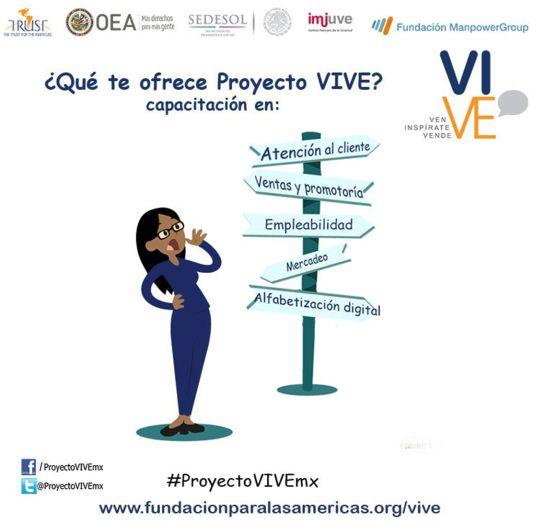 Proyecto VIVE: Empoderando mujeres