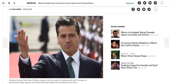 """""""Empecé a recibir amenazas y llamadas extrañas"""": David Fuentes, reportero de El Universal"""