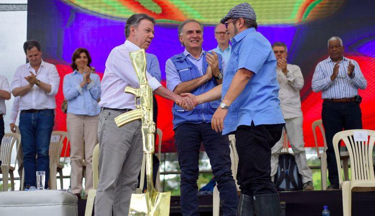 """""""El proceso de paz empieza a hacerse realidad en Colombia"""": Felipe Restrepo"""