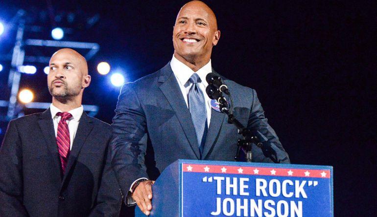 Dwayne 'La Roca' Johnson podría ser el próximo presidente de los Estados Unidos