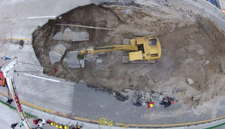"""""""No pudimos contra el drenaje y la cantidad de residuos"""": Oscar Callejo Silva, Subsecretario de Infraestructura de la SCT"""