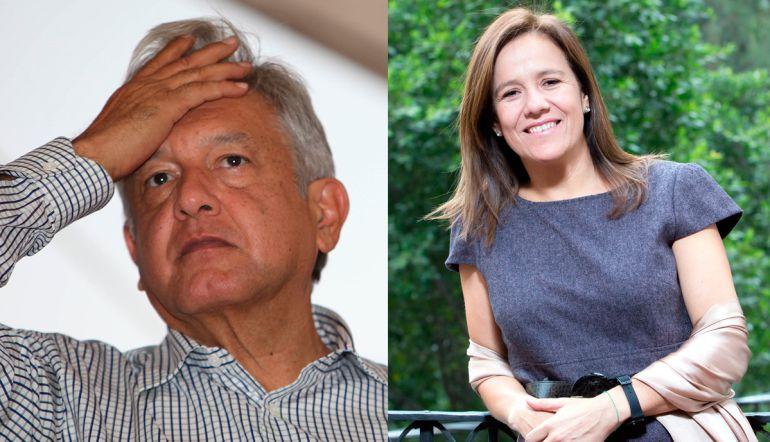 """""""Soy la que le puede ganar a López Obrador"""": Margarita Zavala"""