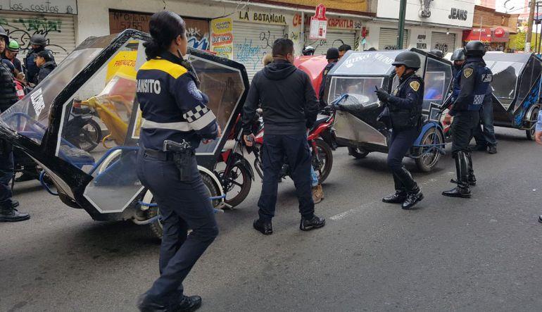 """""""No somos delincuentes"""": Adrián Hernández, Líder mototaxistas Tláhuac"""