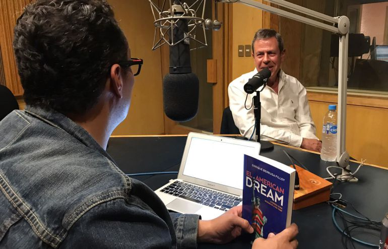 """Enrique Berruga presenta su libro """"El American Dream"""""""