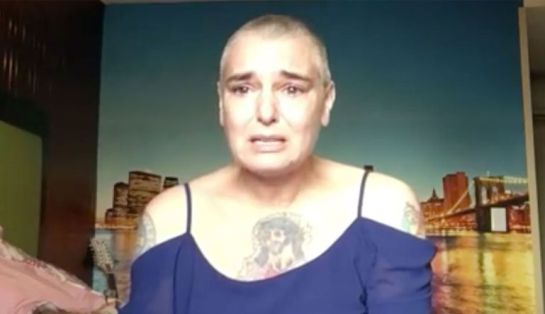Sinéad O'Connor, al borde del suicidio — Facebook