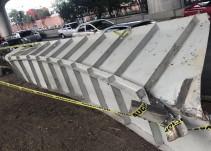 Pese a caída de estructura, periférico es seguro: Secretaría de Obras CDMX