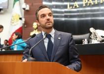 """""""El PAN está secuestrado"""": senador Lavalle"""