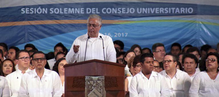 Estafa Maestra, UAEM, sedesol: Desmiente rector de la UAEM acusaciones de La Estafa Maestra