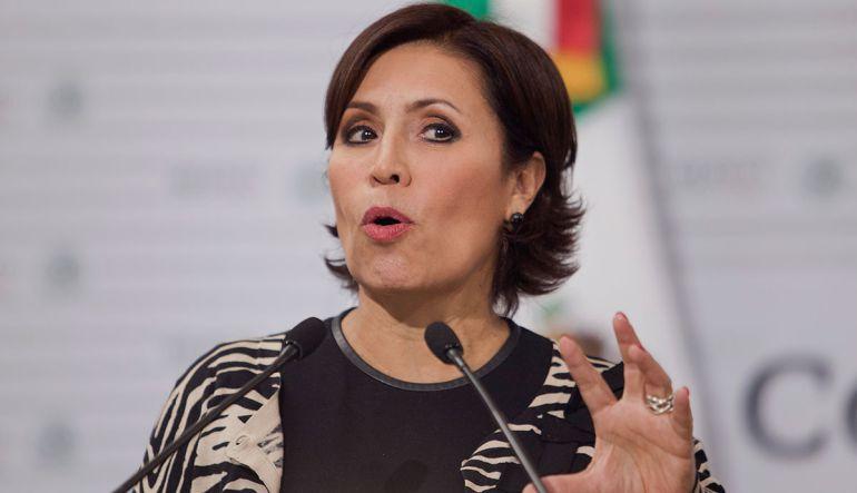 """""""No tengo nada qué aclarar"""": Rosario Robles"""