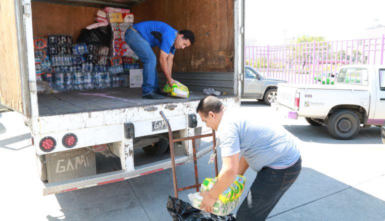 Entrega de ayuda en Oaxaca llega de manera gradual