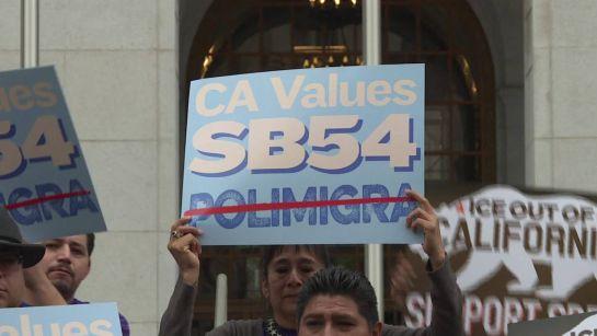 Aprueban ley para convertir a California en Estado Santuario