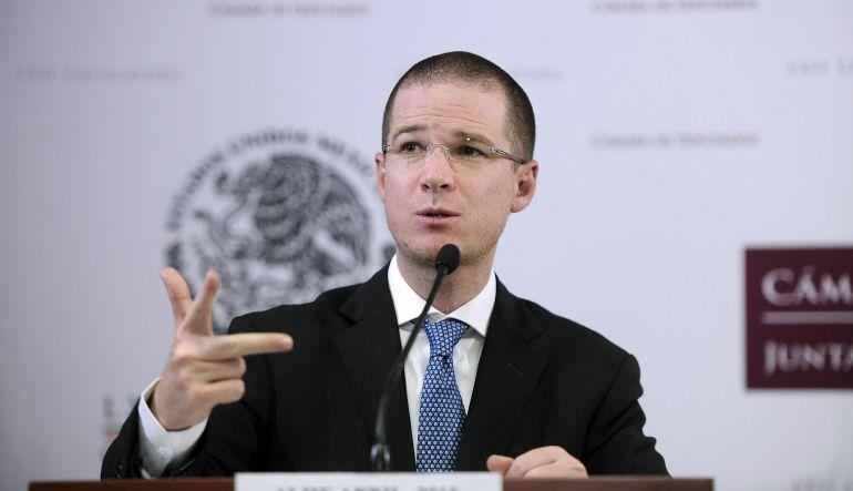 """""""Estrategia del PRI es dividir al PAN"""": Ricardo Anaya"""