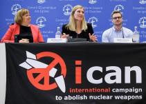 "¿Humanidad o armas nucleares? Una u otra"": ICAN"