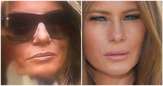 """Donald Trump: """"Melania Trump tiene una doble"""": La teoría conspirativa"""