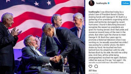 Acoso,Estados Unidos: George Bush: Denunciado por acoso sexual a dos actrices