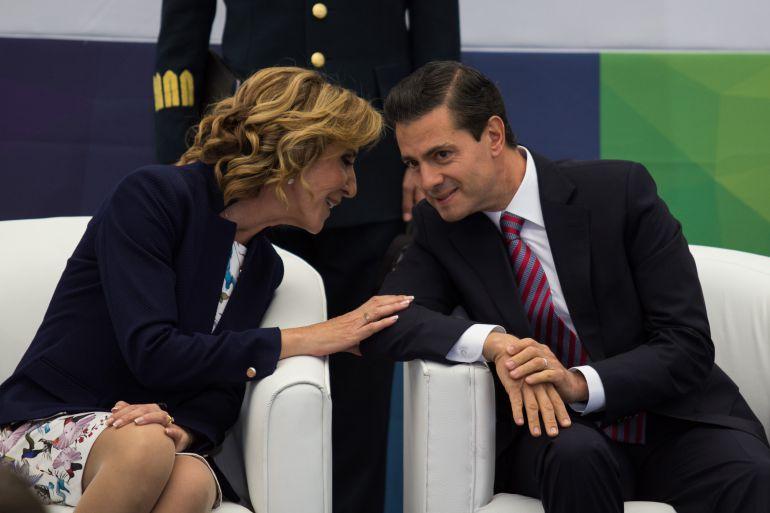 """""""No sé a qué se refería EPN con lo del bullying"""": María Elena Morera"""