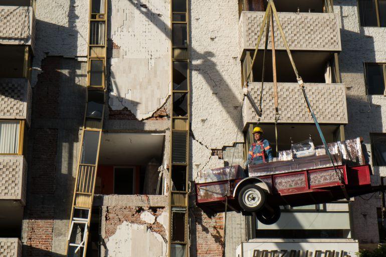 Vecinos se oponen a que sea demolido edificio en Xola 32