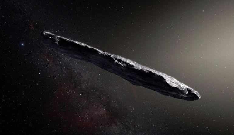 Oumauamau, el primer asteroide proveniente de otro sistema solar