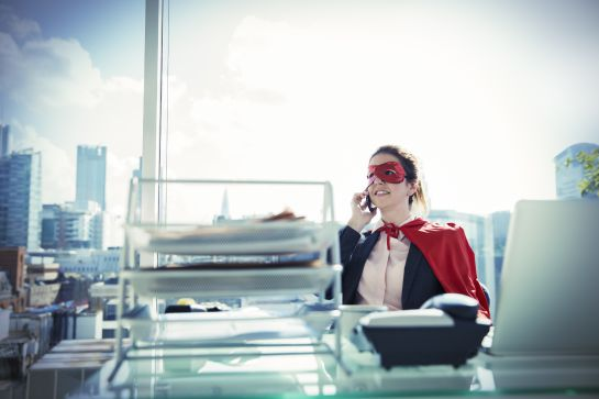 Mujeres: SUPERWOMAN por fuera, SUPERCANSADA por dentro