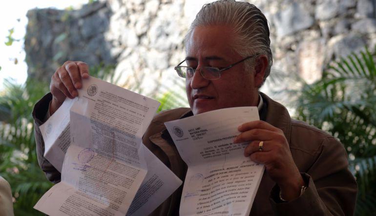 Denuncia rector de la UAEM persecución política