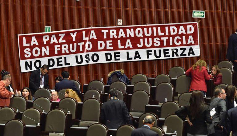 """""""Ley de seguridad interior demuestra opacidad y restricción a la información"""": Marco Coronel"""