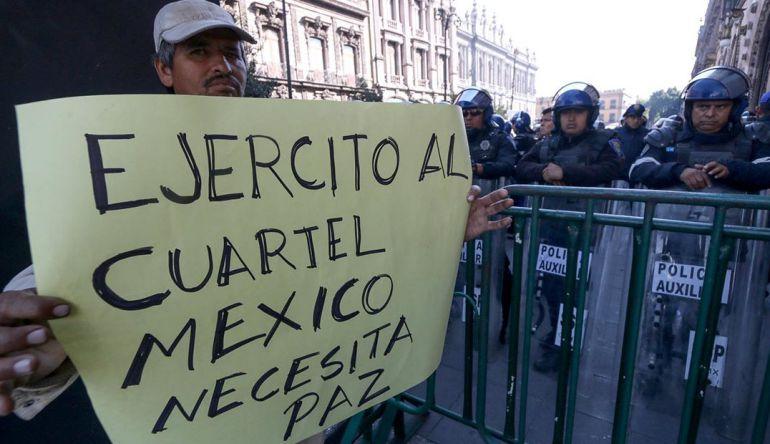 Pancho urge en el Senado a sacar Ley de Seguridad