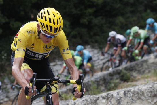 Chris Froome, positivo en control de dopaje en España