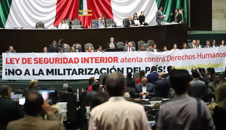 Ley de Seguridad Interior será impugnada: Senadora PRD