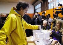 Elecciones en Cataluña, España