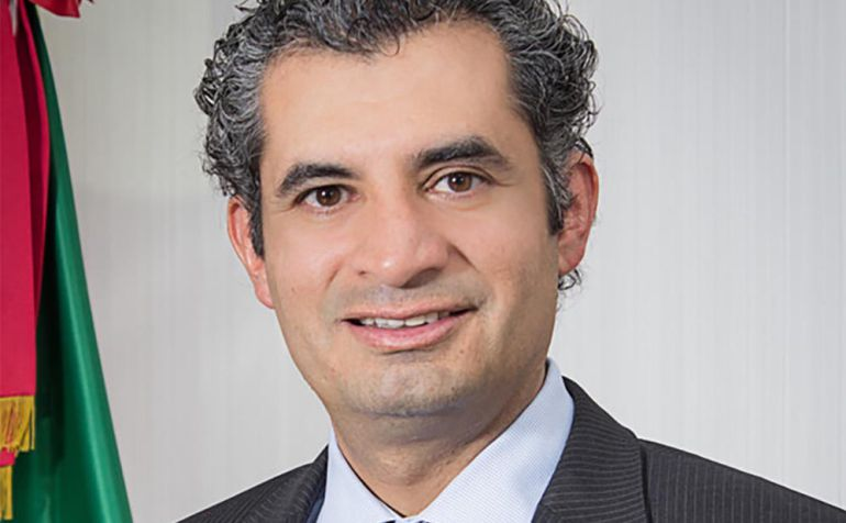 Enrique Ochoa Reza, PRI: Enrique Ochoa Reza, Presidente del CEN del PRI, en entrevista