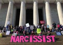 Protestas por el segundo año de mandato de Trump