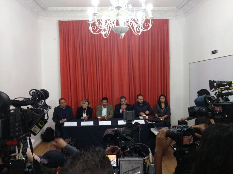 Cámara de patrulla donde estuvo detenido Marco Sánchez no funcionaba