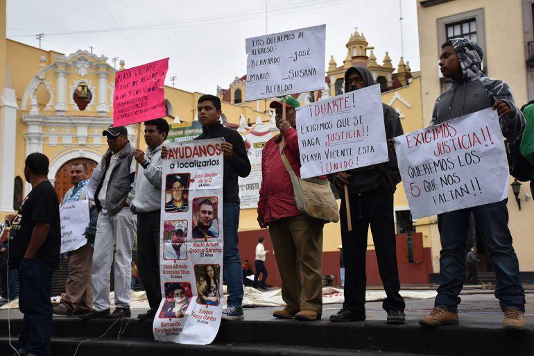Revelan nombres de victimas desaparecidas durante gobierno de Javier Duarte