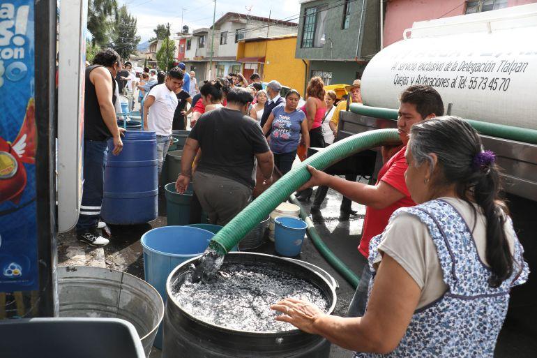 A más tardar en dos días se restablecerá el suministro de agua: Sacmex