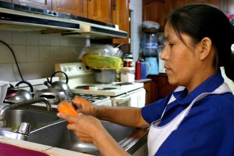Campaña busca apoyar a 2.4 empleadas del hogar