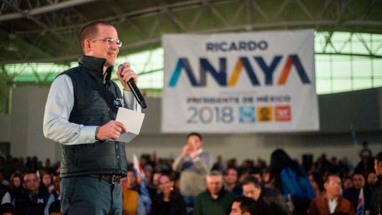 Anaya, Meade: Anaya no se bajará de la contienda electoral: Marco Adame