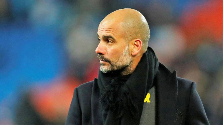 El liston amarillo de Guardiola