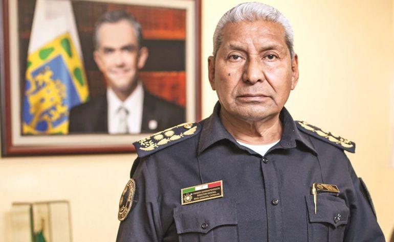 bomberos, Jefe Vulcano: El Jefe Vulcano deja el Cuerpo de Bomberos de la CDMX