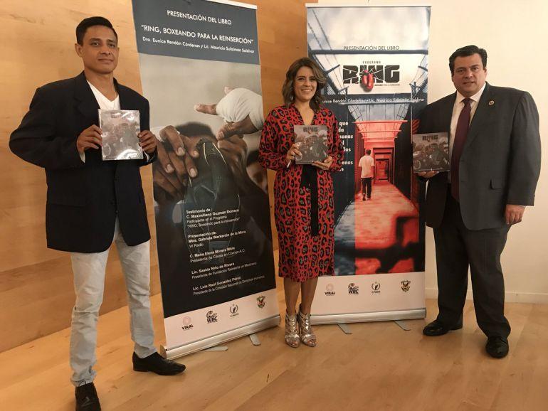 Presentación del libro RING, Boxeando para la reinserción