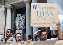 Trabajadores del INBA exigen pago de salarios atrasados