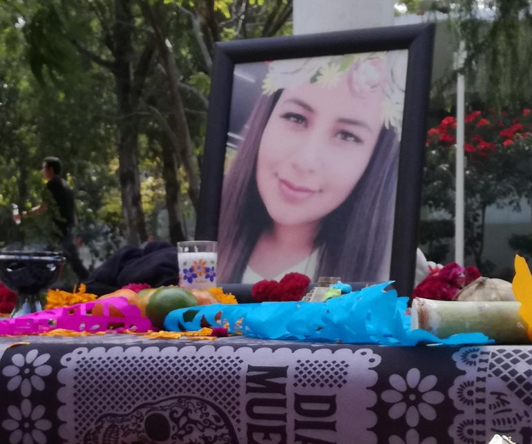 """Lupita, feminicidio, UNAM: """"Todos protegen al asesino de Lupita"""": Hermana de estudiante de la UNAM"""