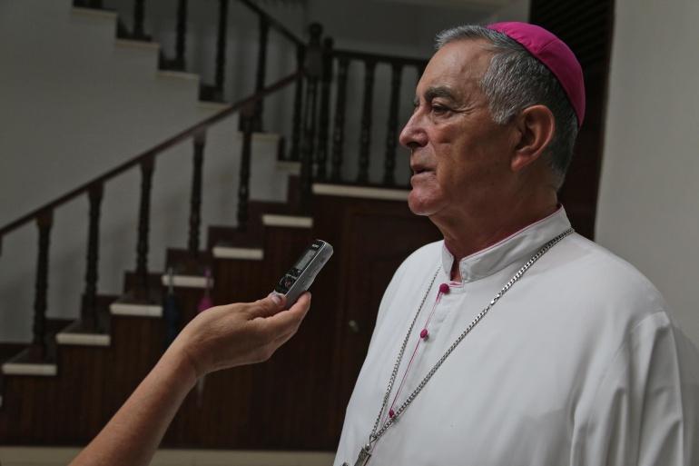 """""""Lo que estamos buscando es la paz y que se frenen esos crímenes; fue una exhortación que yo les hice y ojalá la respeten"""" Salvador Rangel Mendoza"""