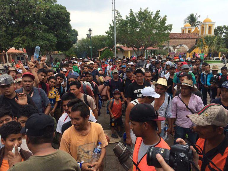 Viacrucis Migrante: Integrantes de Viacrucis Migrante solicitarán asilo a EU