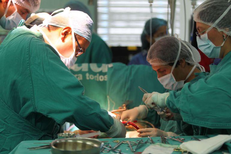 Padre dona 30% de hígado a su hijo