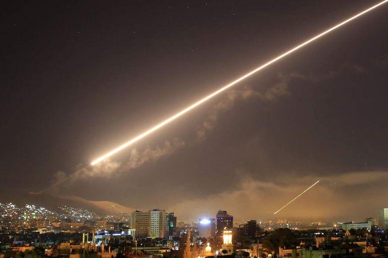 El ataque estadounidense a Siria