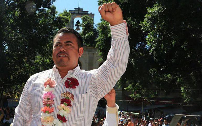 Eloy López afirmó que la agresión en el mitin de José Antonio Meade en Oaxaca la iniciaron organizaciones adheridas al PRI