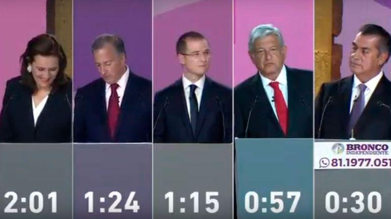 """""""Fue un debate de cuatro contra uno"""": Gabriela Cuevas"""