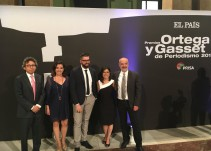 Estafa maestra recibe premio Ortega y Gasset