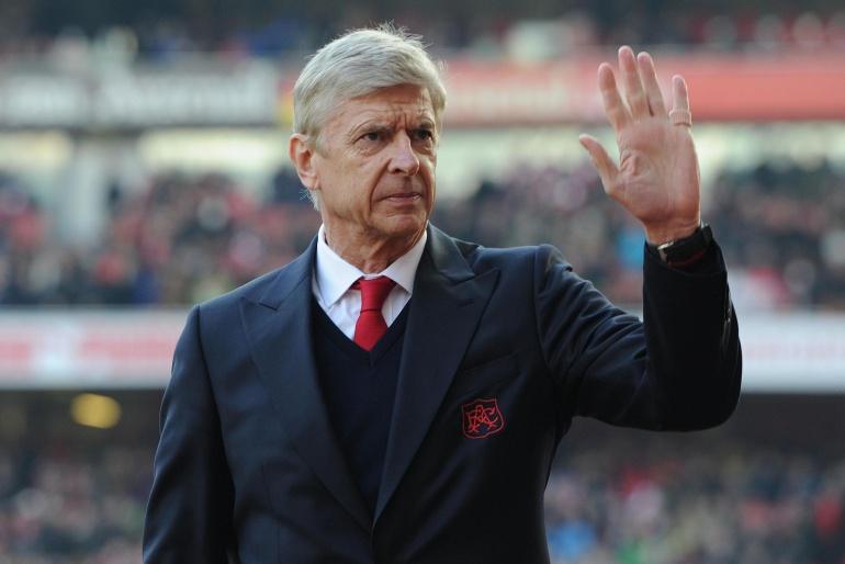 La despedida de Arsène Wenger