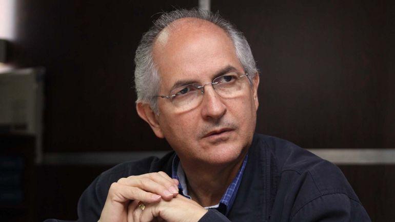 """""""Venezuela está en manos del crimen organizado"""": Antonio Ledezma"""